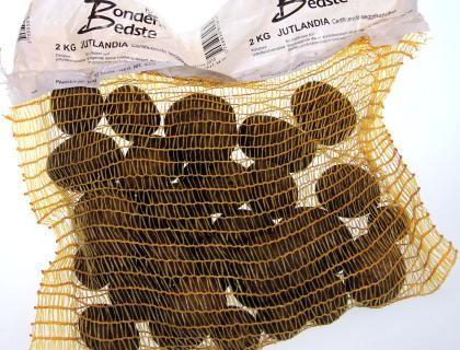 Læggekartoffel Jutlandia 2kg, middelsen, skrællet