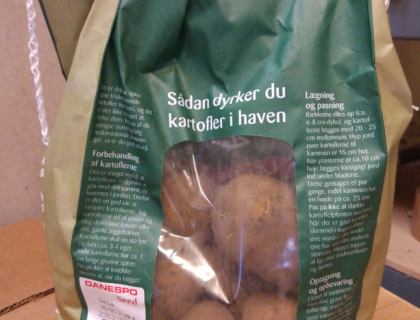 Læggekartoffel Gala 2 kg. tidlig, pillet, skrællet