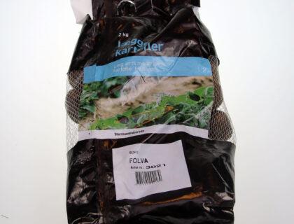 Læggekartoffel Folva 2 kg, middeltidlig, skrælle