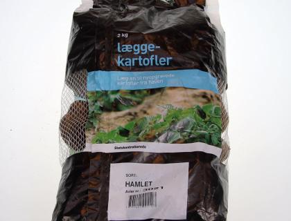 Læggekartoffel Hamlet 2 kg, Tidlig, skrællet