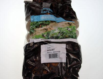 Læggekartoffel Solist 2 kg, meget tidlig, pillet